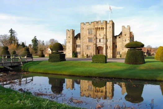 Hever castle and its gardens United Kingdom