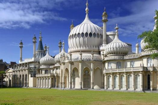 Royal Pavilion in Brighton East Sussex England UK