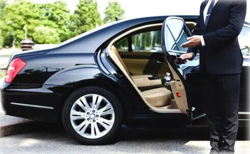 Mercedes Benz S-Class executive hire a driver for a day