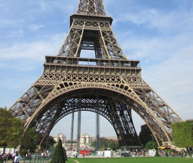 Best Hotels in Paris France - The Eiffel Tower in Paris France