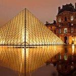 The Louvre Museum Paris France - transportation between london and paris
