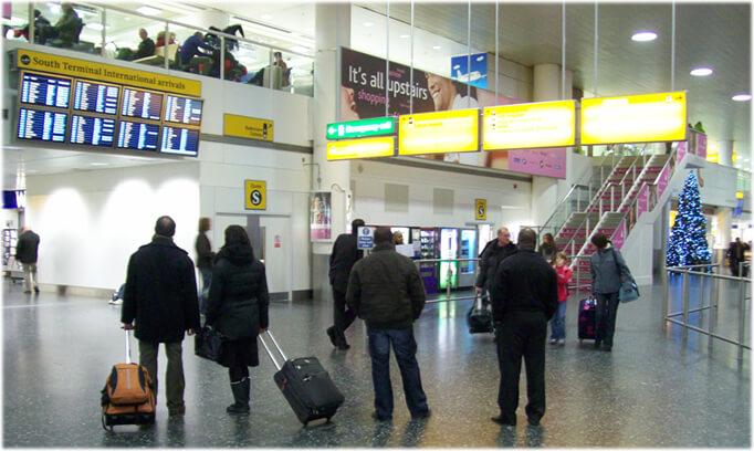 Gatwick Airport North Terminal Postcode >> London Gatwick Airport - LGW Airport [The 2nd Britain's ...