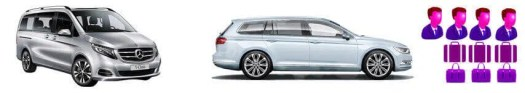 vehicle rental fleet luxury station wagon and people mover range