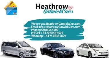 Taxi Cheltenham to Heathrow Airport Transfer