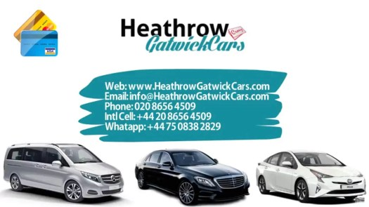UK airport transfers Gatwick to Bradford Taxi Service