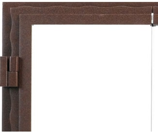 Corner Detail of Bi-fold Glass Doors