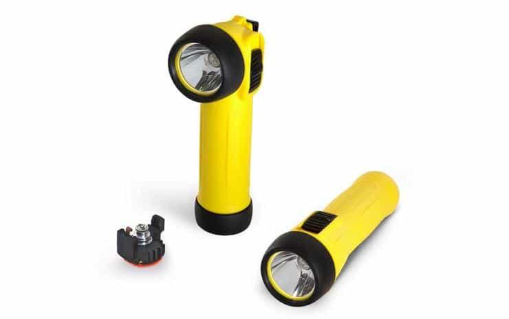 portable intrinsically safe lighting