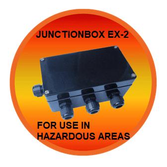 Распределительная коробка взрывоопасных EX