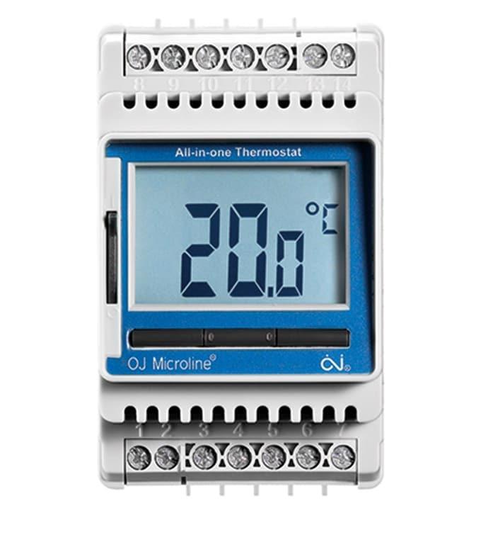 elektrooniline pinnapealne põrandakütte termostaat