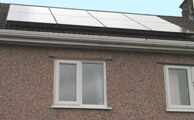 We recommend a solar installation