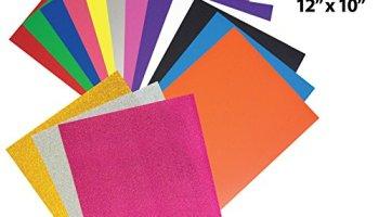 Fame Crafts Heat Transfer Vinyl Bundle 12″x10″- 20 Pack of