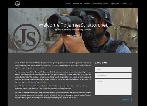 JamesStratton.net – Specialist Security Services