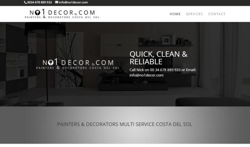 no1decor.com – Painters Decorators Costa del Sol
