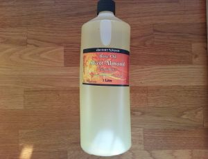 sweet almond oil 1 litre new