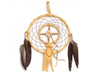 Dream Catcher with medicine bag large 6 inch