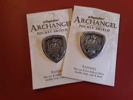 Archangel Raphael Pocket Shield 1