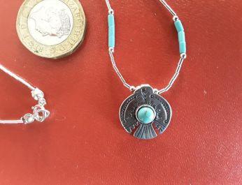 Peyote Bird Necklace 3