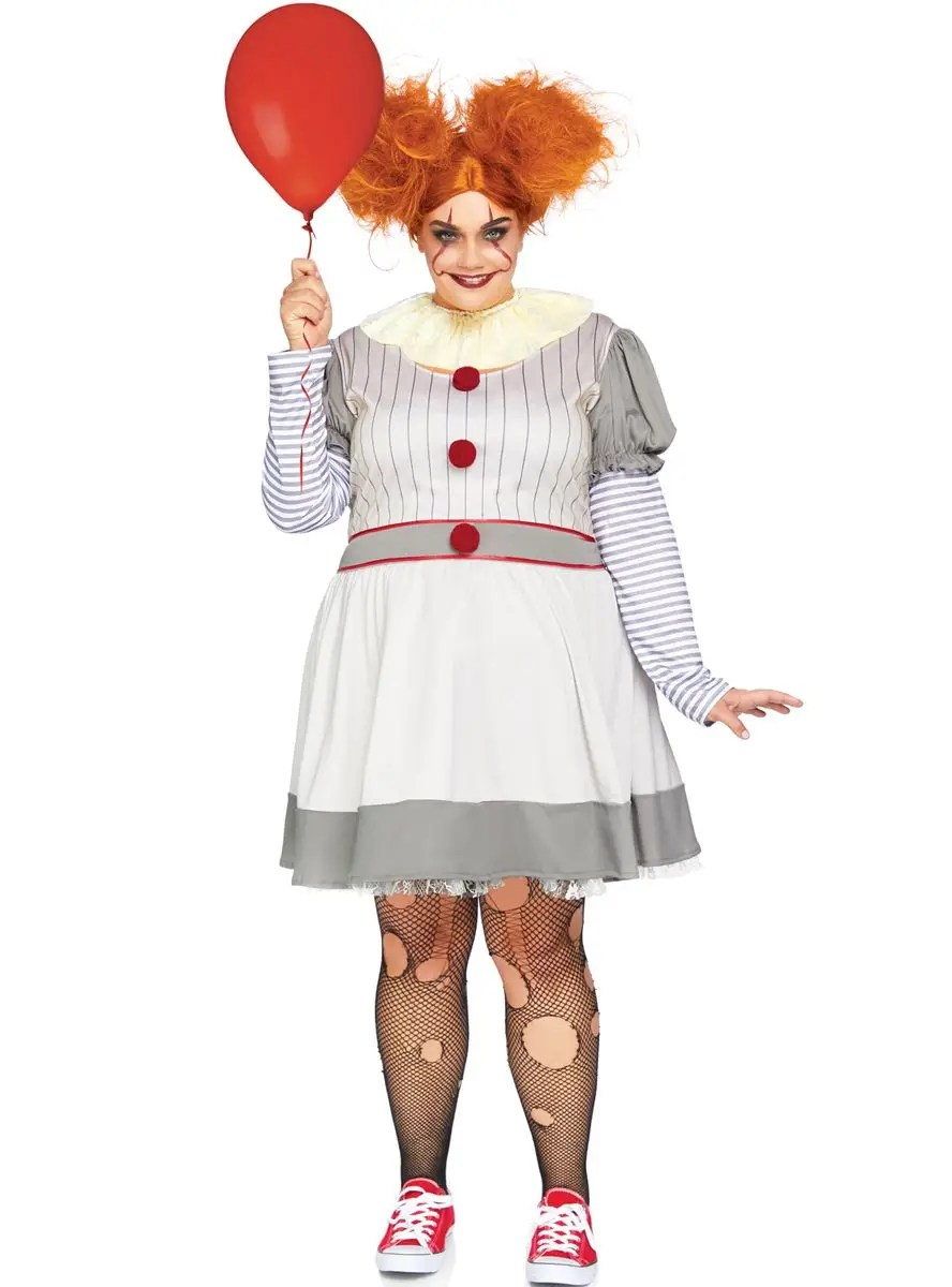 Country living editors select each product featured. Women S Plus Size Pennywise Costume It Clown Halloween Costume