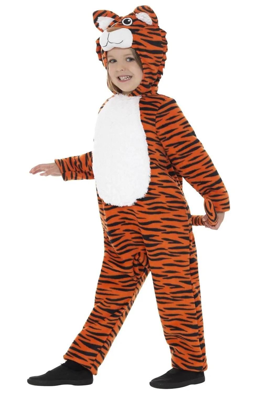 Tiger Kids Jumpsuit Costume Tiger Animal Book Week Costume
