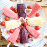 Summer Smoothie Popsicles