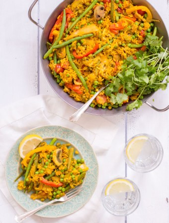 Turmeric Veggie Paella