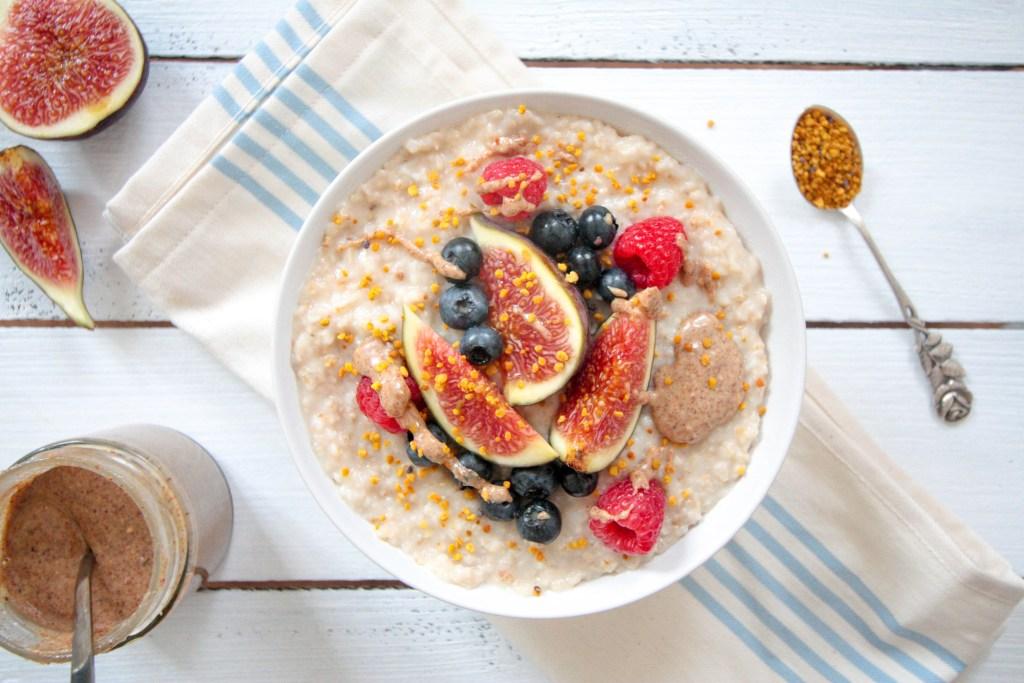 Coconut Porridge - plantbased, vegan, gluten free, refined sugar free