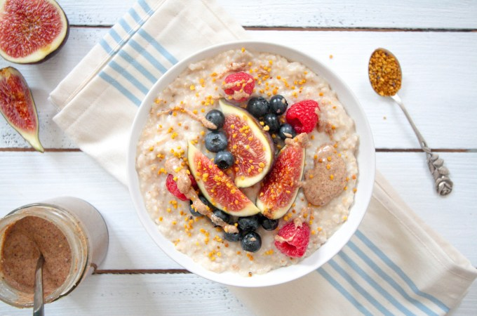 Coconut Porridge - plantbased, vegan, gluten free, refined sugar free