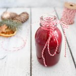 Beetroot and Apple Glögg (Hot Wine or Punch)