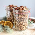 Gingerbread Granola & A Christmas Giveaway