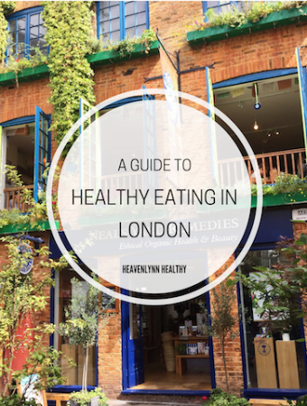 Healthy Eating in London – Restaurants, Delis & Cafés