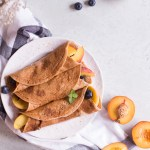 The best healthy crepes - vegan, plant based, gluten free, refined sugar free, healthy - heavenlynnhealthy.com