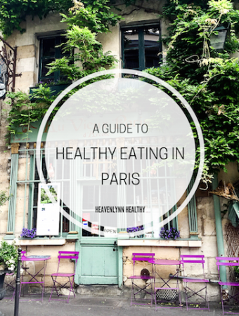 Healthy Eating in Paris – Health Spots, Cafés and Restaurants