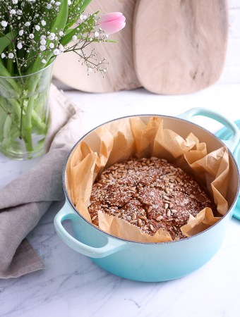 Whole-Grain Rye Bread and Le Creuset Giveaway*