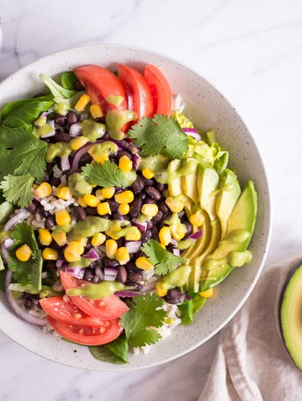 Quick Mexican-Inspired Salad