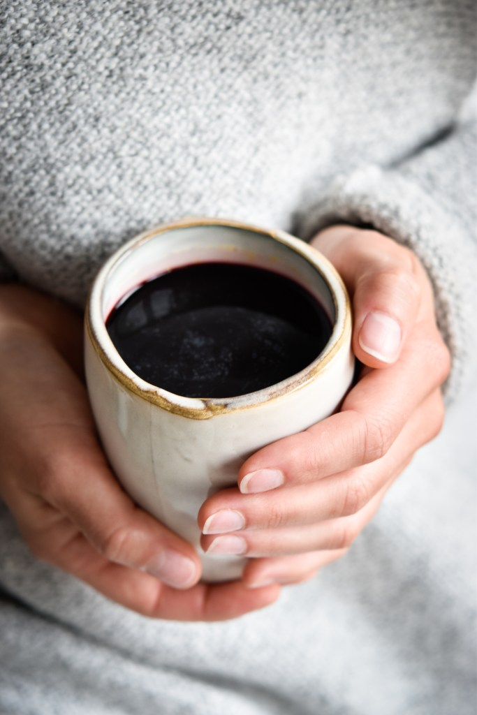 Elderberry-Turmeric-Drink and tips to stay healthy and fit during cold season - plant-based, vegan, gluten free, refined sugar free - heavenlynnhealthy.com