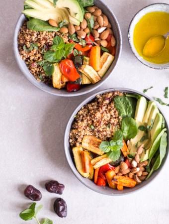 Magical Moroccan Quinoa Bowl