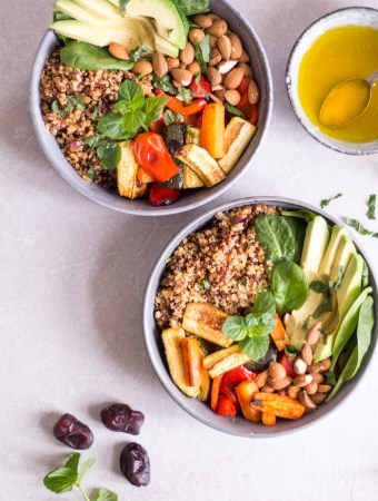 Magical Moroccan Quinoa Bowl