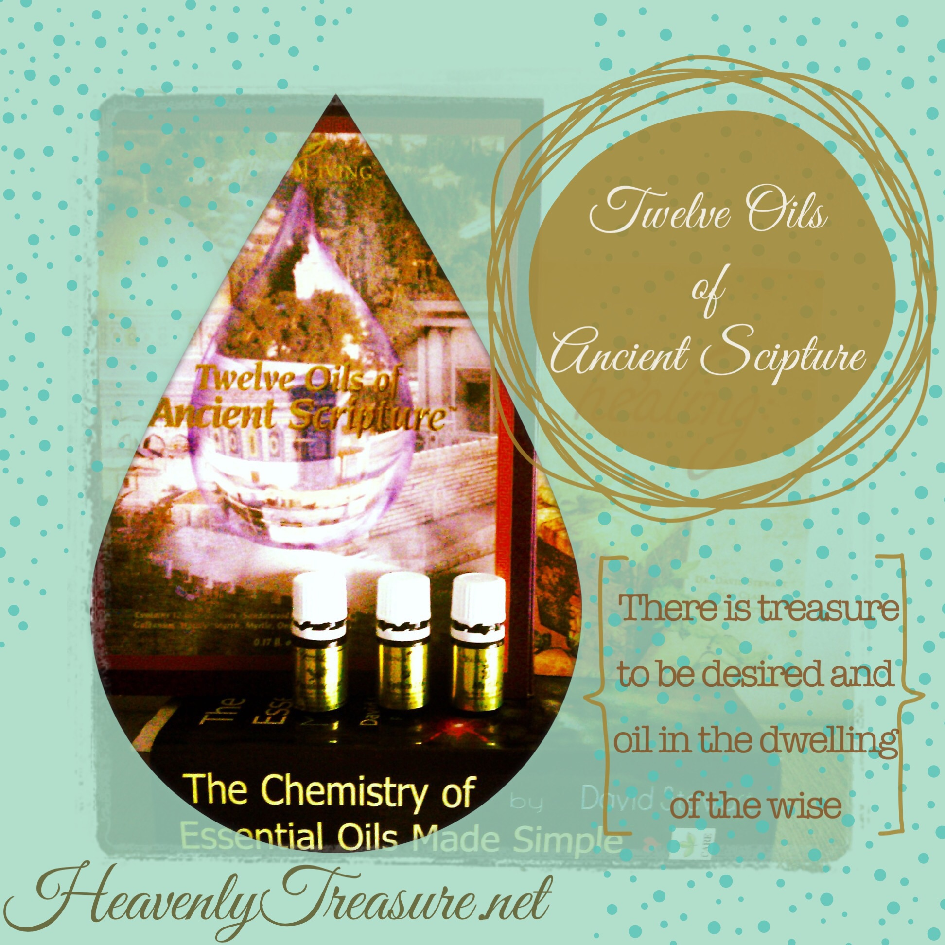 10 oils of ancient scripture verses and slide presentation of