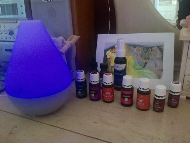Birth essential oils kit