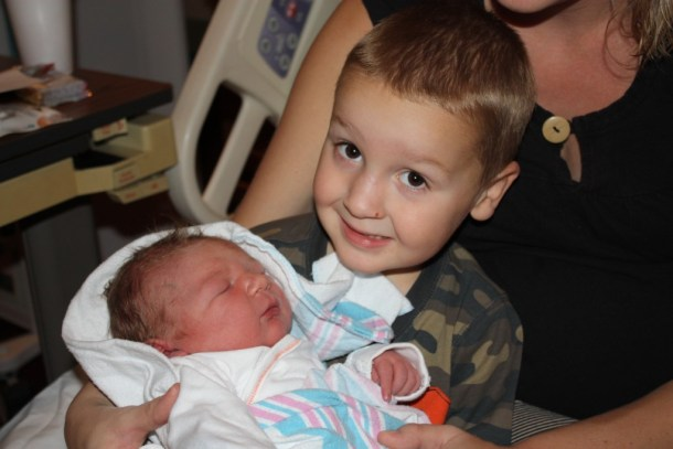 big brother and baby