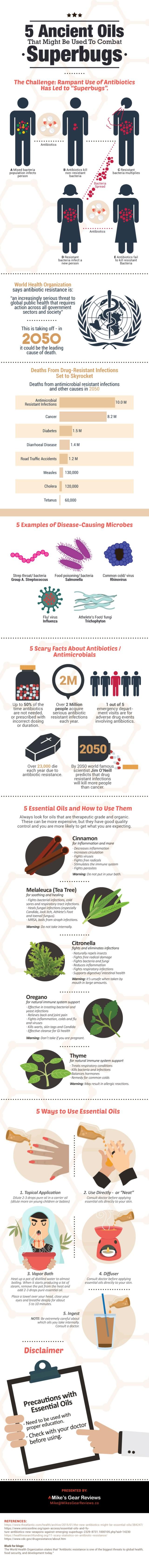 5 ancient oils