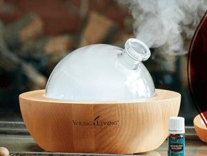 diffuse essential oils
