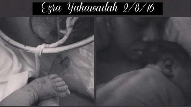 Hasharaah baby Ezra