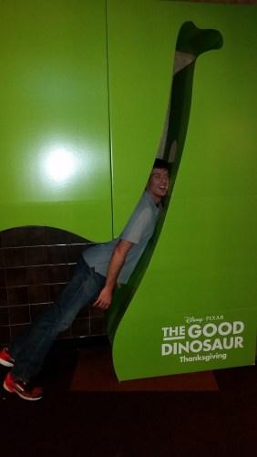 Free advertising for The Good Dinosaur