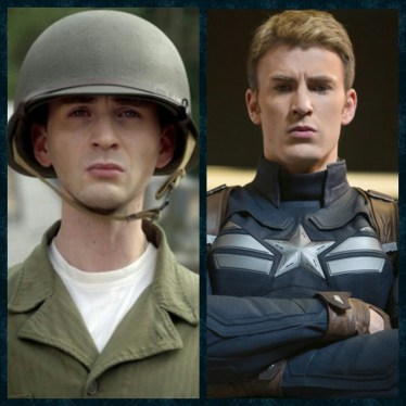 Before and After, Captain America, Steve Rogers