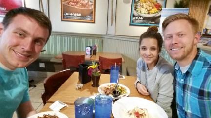Lunch at Rumbi's