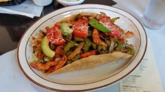 Fajita Salad (yum!)