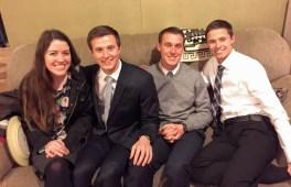 Sarah, Danny, Zach, Jeremy