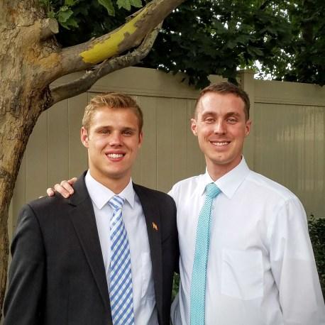 Kyler and Zach