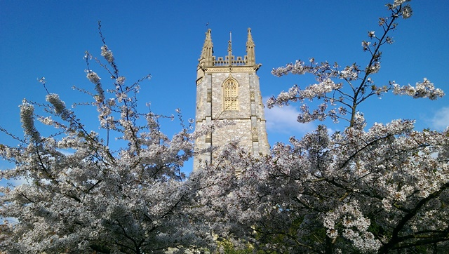 Heavitree Church Spring Picture